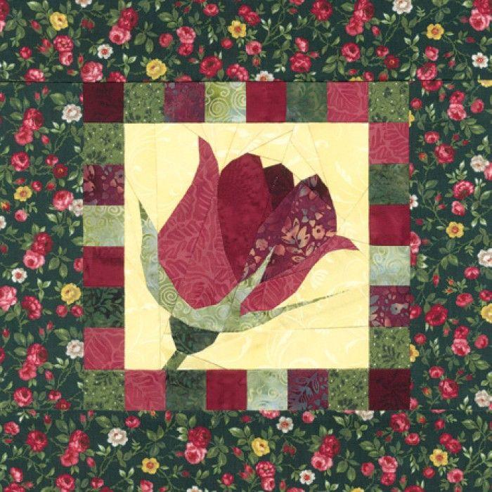 Gardener's Album Radiant Rose Quilt Pattern Roses Pinterest Custom Rose Quilt Pattern