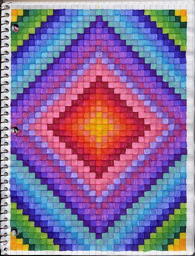 Disegni a quadretti   Math   Pinterest   Graph paper art and Math