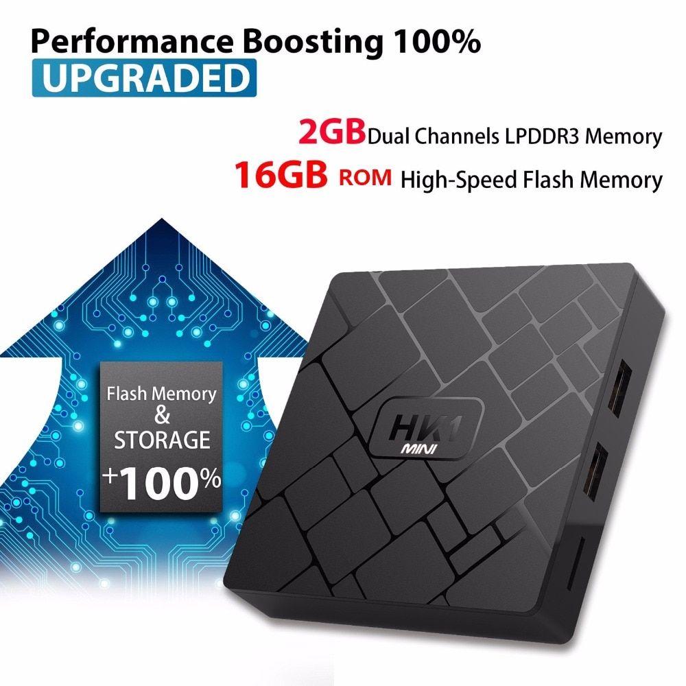 HK1 mini Smart Android 8 1 TV Box RK3229 quad-core 2 4G