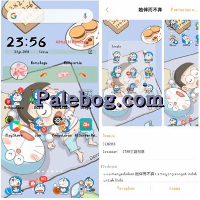 Download Tema Wallpaper Doraemon Doraemon Doraemon Wallpaper Lucu Latar Belakang Animasi