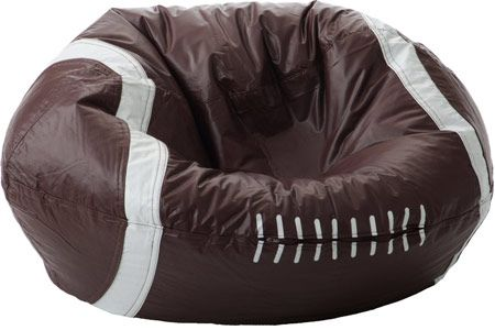 football bean bag chair game chairs at walmart classic perfect for the healthyoga
