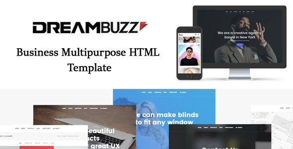 Dreambuzz Is Clean Multipage And Multipurpose Responsive