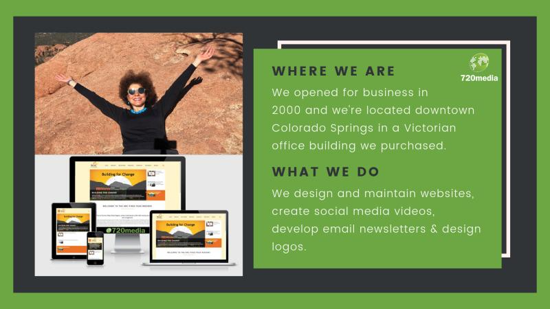720media Company Page Admin Linkedin 720media Is A Local Colorado Springs Website Design In 2020 Website Design Company Social Media Video Email Newsletter Design