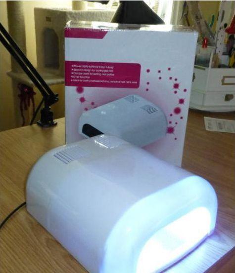 36w Uv Gel Nail Curing Lamp Dryer White Uv Gel Nails Light Nails Uv Gel
