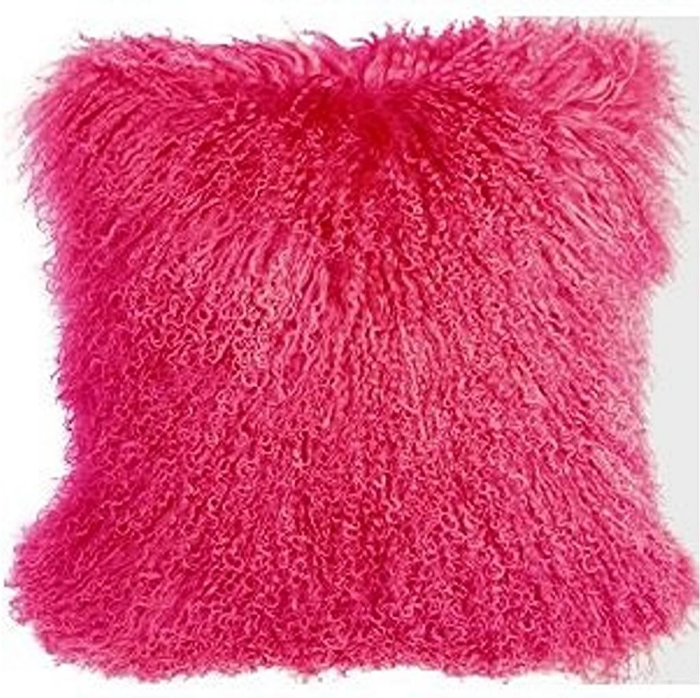 Hot pink fuzzy pillow | Birthday | Pinterest | Hot pink, Pillows ...