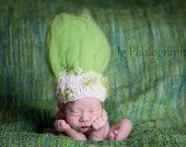 Troll Baby hat - this cracks me up.