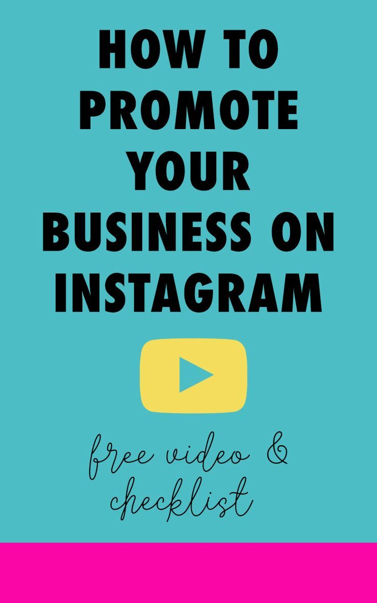 Aug 9 How To Promote Your Business On Instagram Video Marketing Promote Your Business Instagram Business