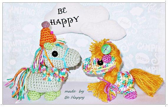 Little  PONY amigurumi crochet plush