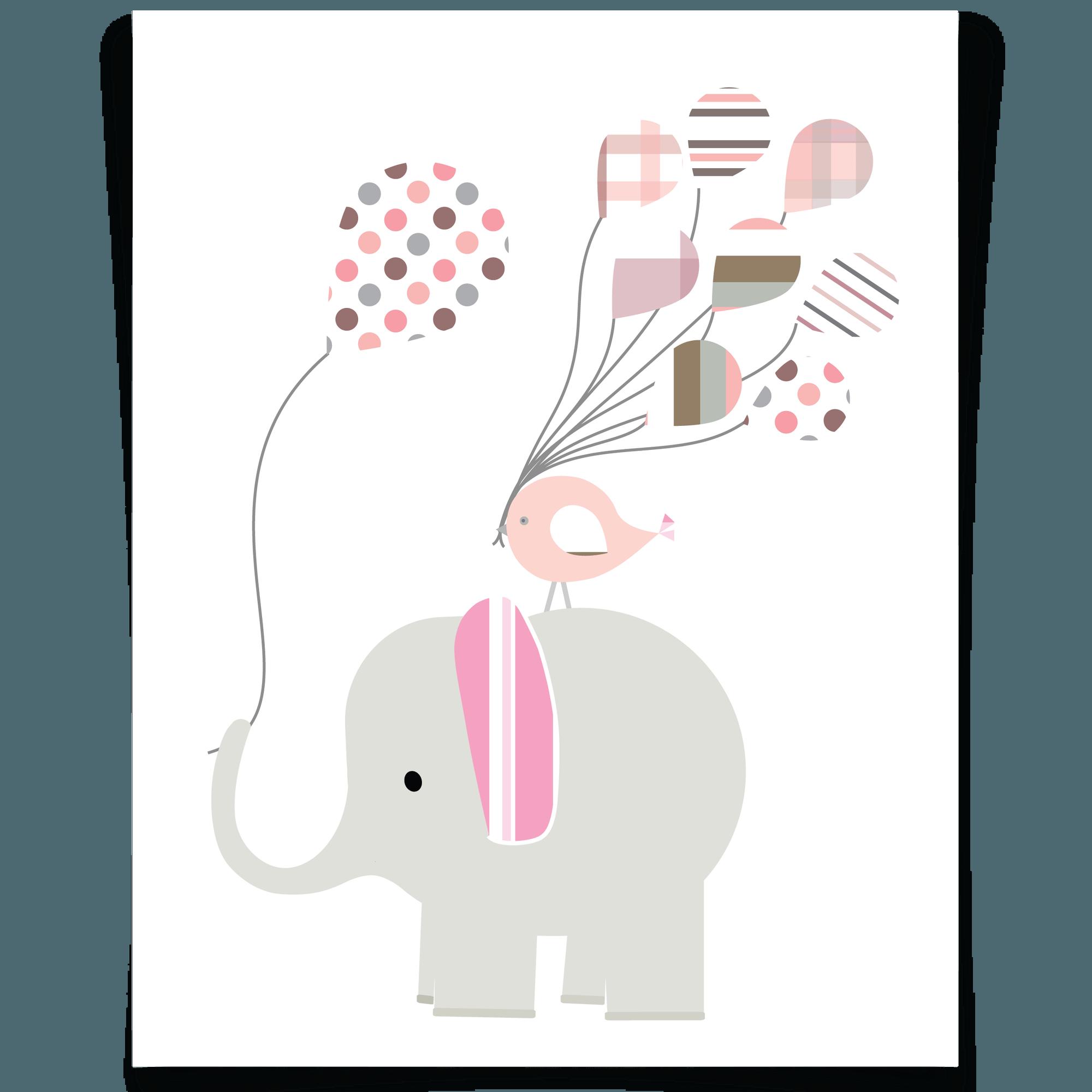 Craft Elephant Nursery Wall Art