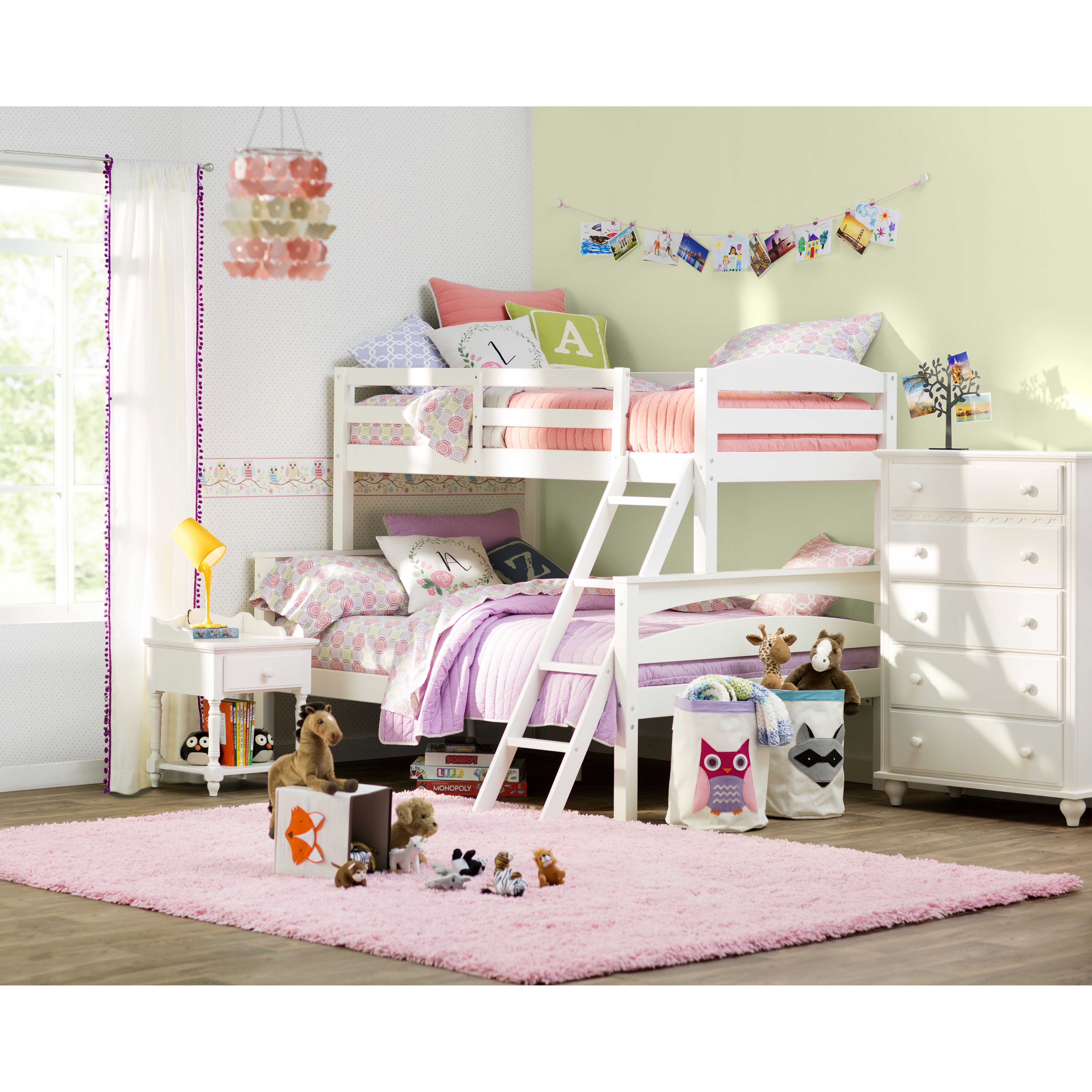You ll love the Sienna Rose Twin Bunk Bed at Wayfair Great Deals