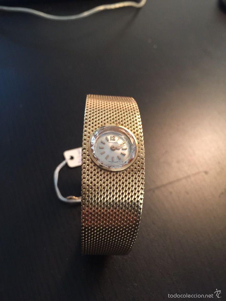 reloj longines oro senora