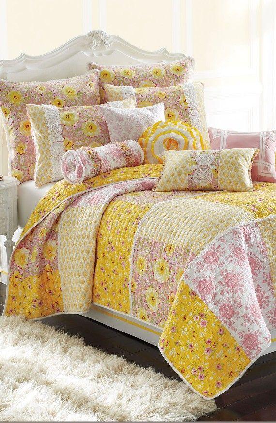 Product Image 1 | Quilting Ideas | Pinterest | Dena and Shabby ... : dena home sunbeam quilt - Adamdwight.com