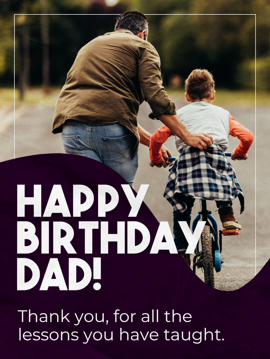 Lessons Learnt Birthday Cards For Father Birthday Greeting Cards By Davia Birthday Greeting Cards Happy Birthday Dad Birthday Cards
