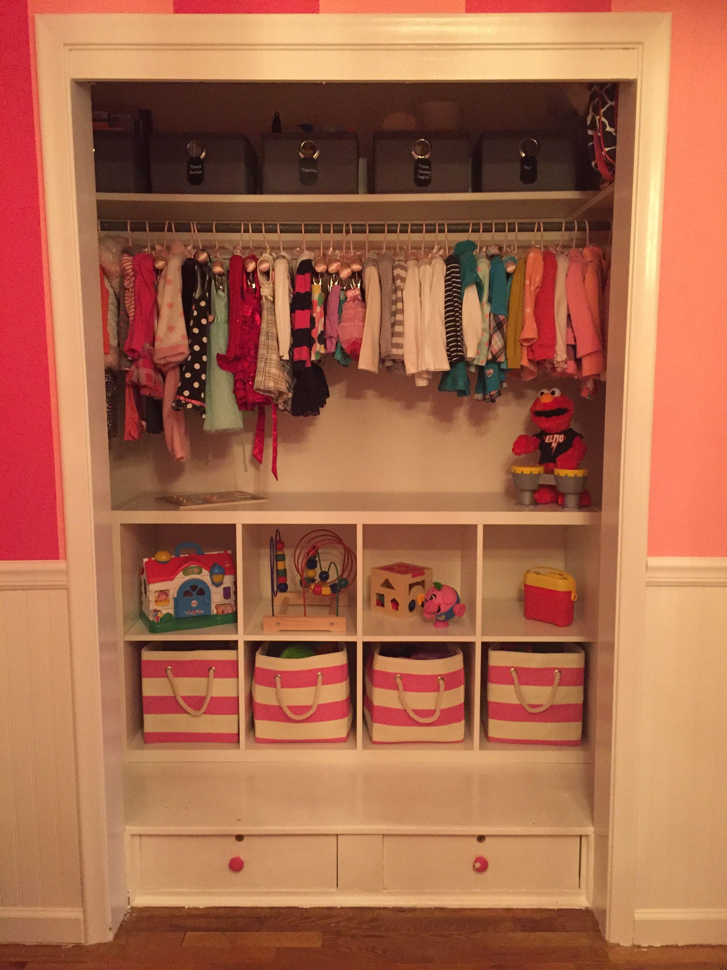 Toddler Closet Organization Ikea Shelving Land Of Nod