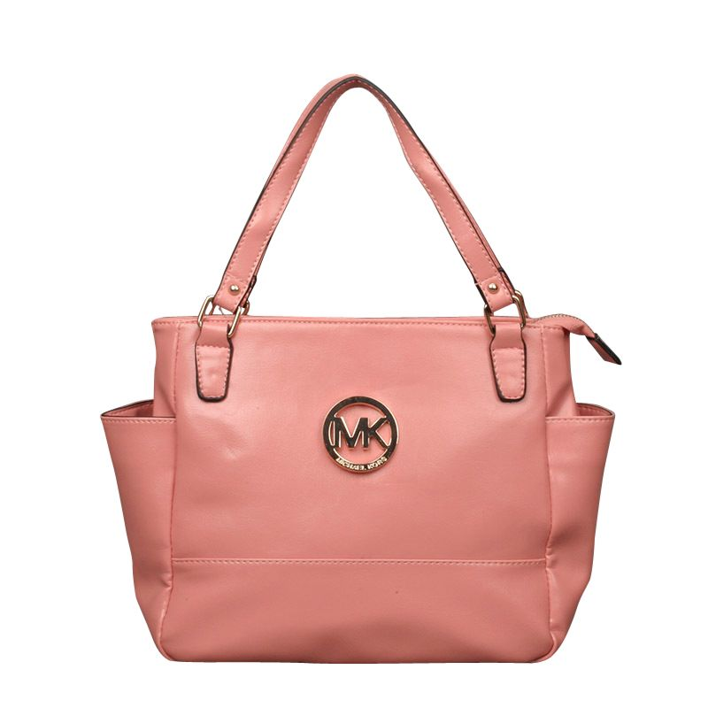 e6ea797afa  MKResort  GameDay You Never Met The Famous Michael Kors Baby Saffiano  Medium Pink Totes Like That In Here!