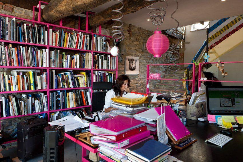 chris bangles new office