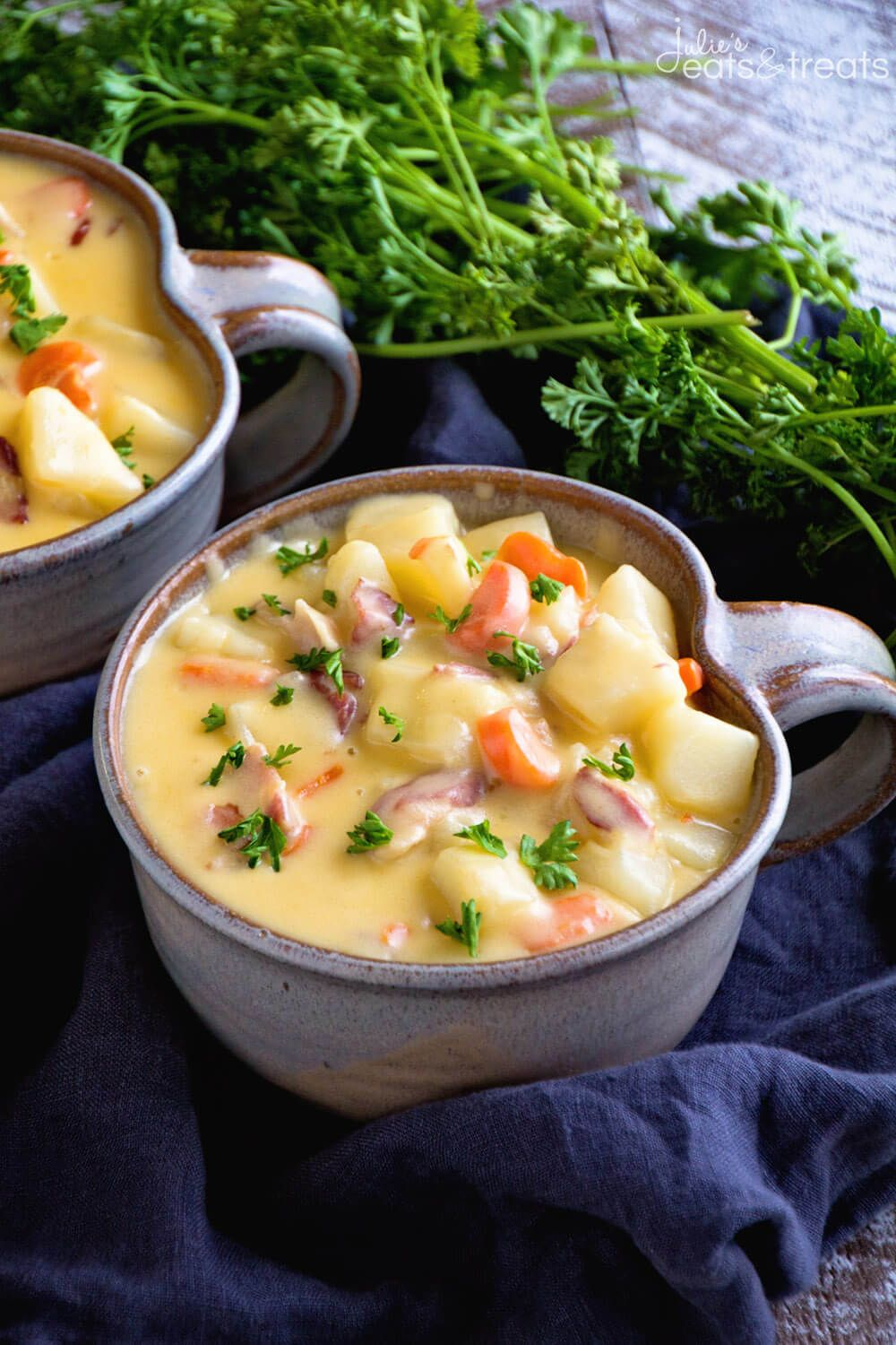 Cheesy Bacon Potato Soup Recipe Comforting Delicious