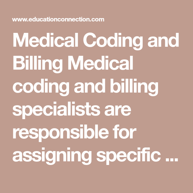 Medical Coding And Billing Medical Coding And Billing Specialists