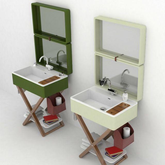 My bag ou le lavabo salle de bain portatif   Marque italienne ...