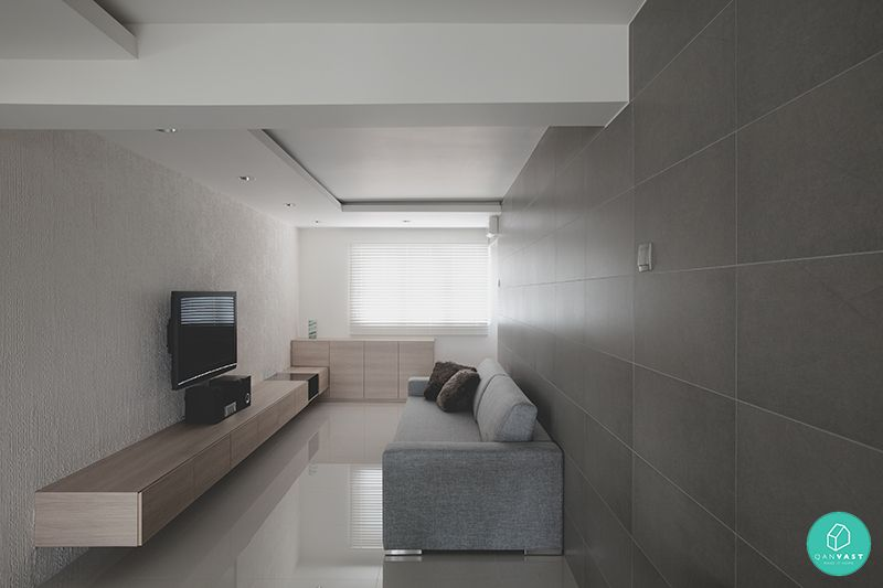 Linear Space Concepts Holland Minimalist Living Room