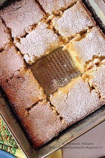 Prajitura cremoasa cu lamaie / Lemon pudding cake ~ Bucatar maniac si prietenii recipe