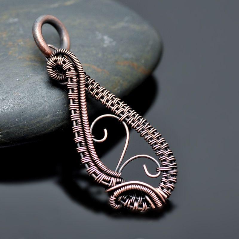 Nicole Hanna Jewelry creates one of a kind, artisan wire wrap ...