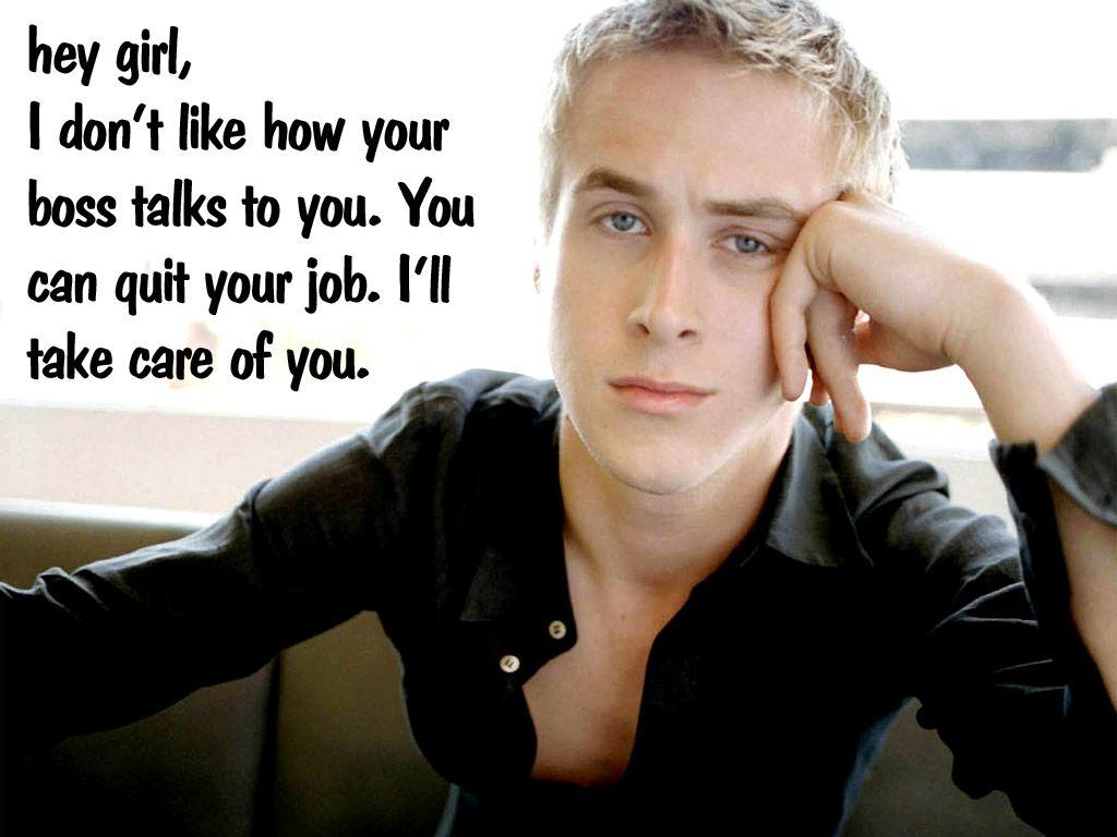 Great Job Funny Meme Ryan Gosling : Hey girl ryan gosling makes your pregnancy fantasies come true