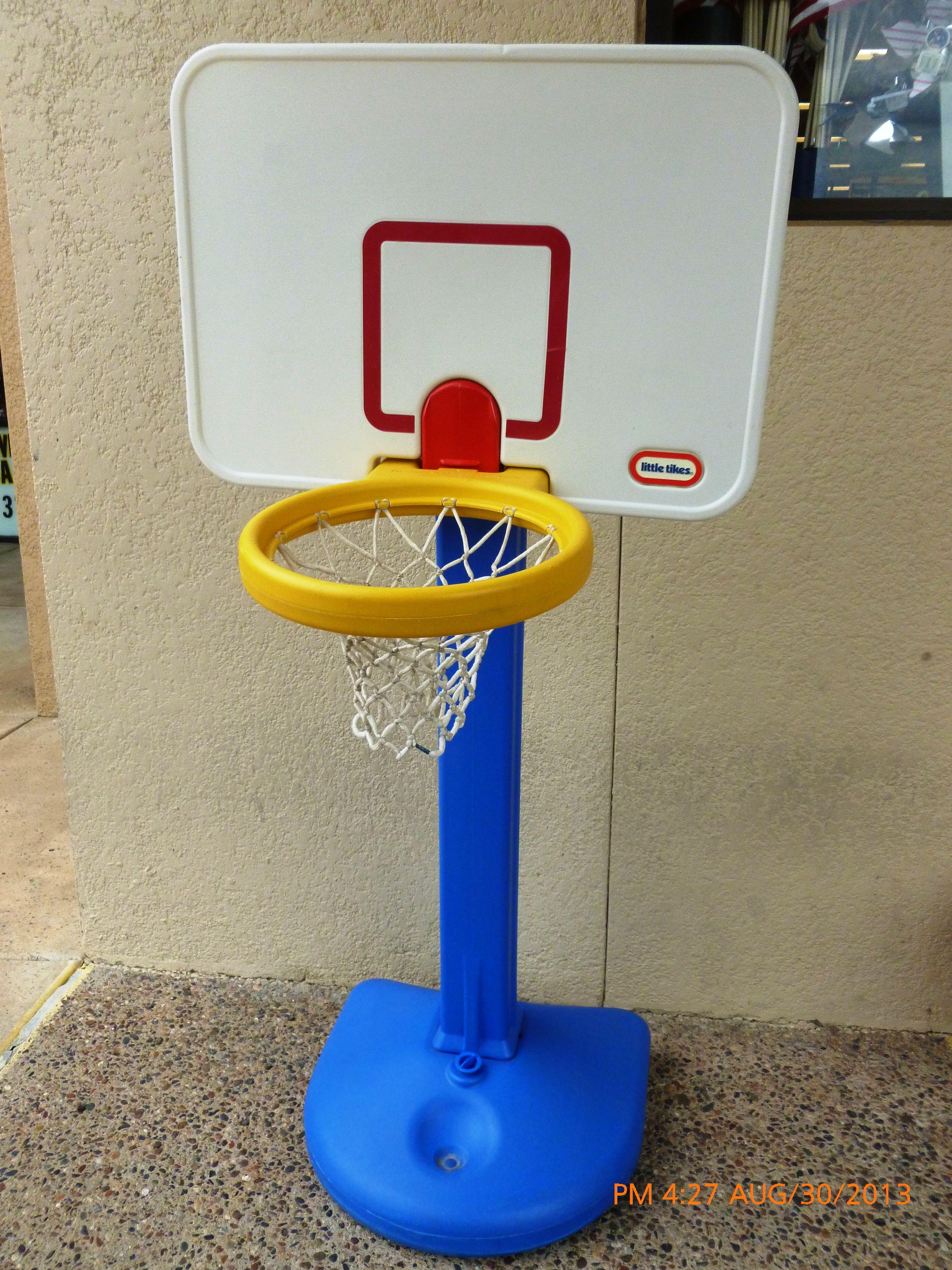 Little Tikes basketball hoop toddler size. #littletikebasketballhoop ...