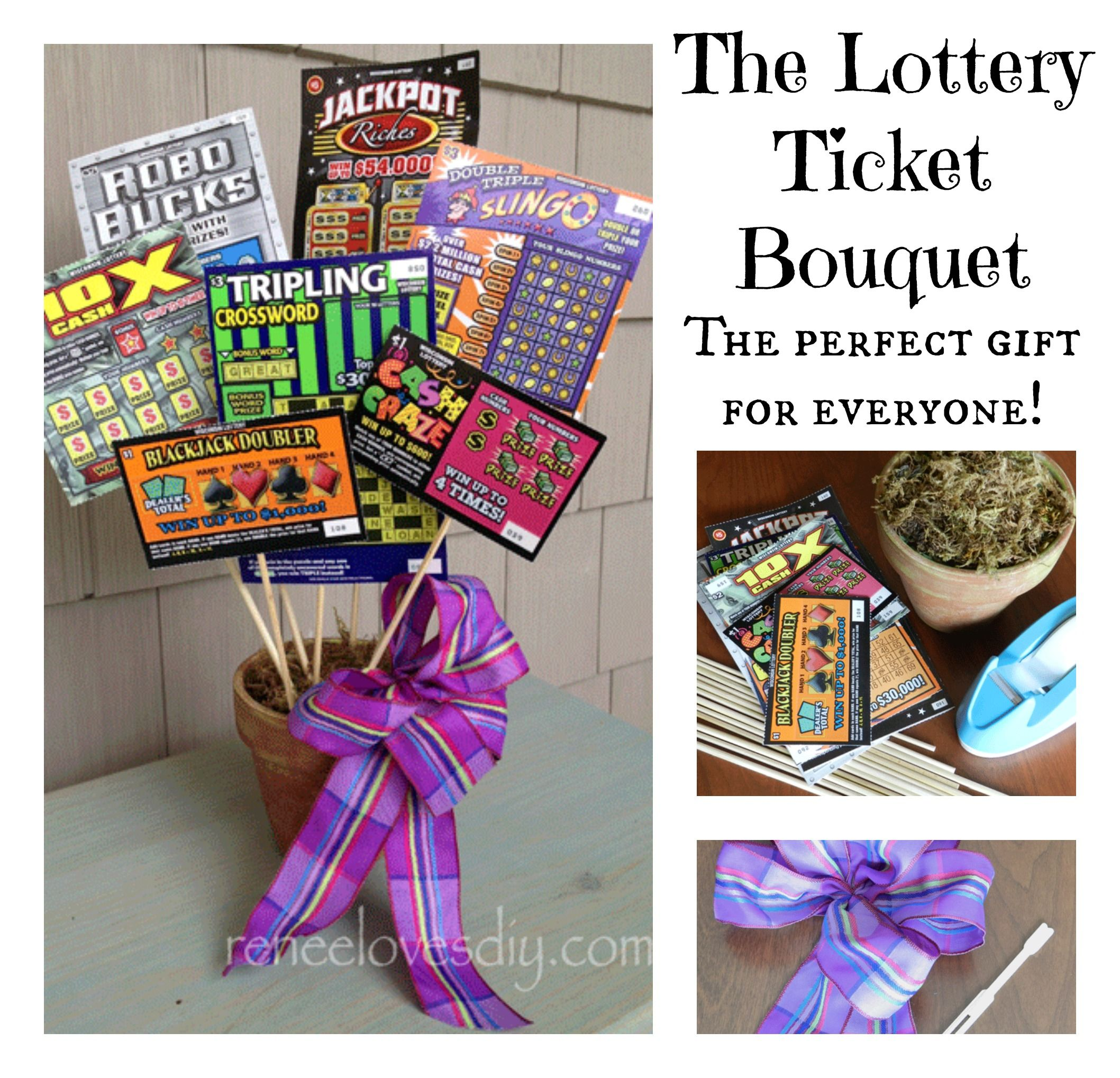 The Lottery Ticket Bouquet Is A Great Way To Make Someoneu0027s Day Special!  Check It  How To Make Tickets For A Fundraiser