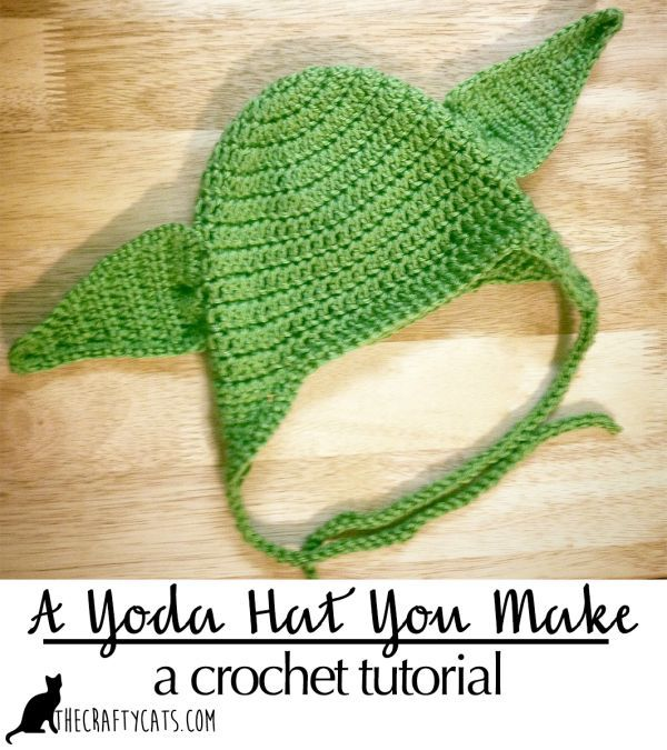 A Yoda hat this is | Crochet, Tutorials and Patterns