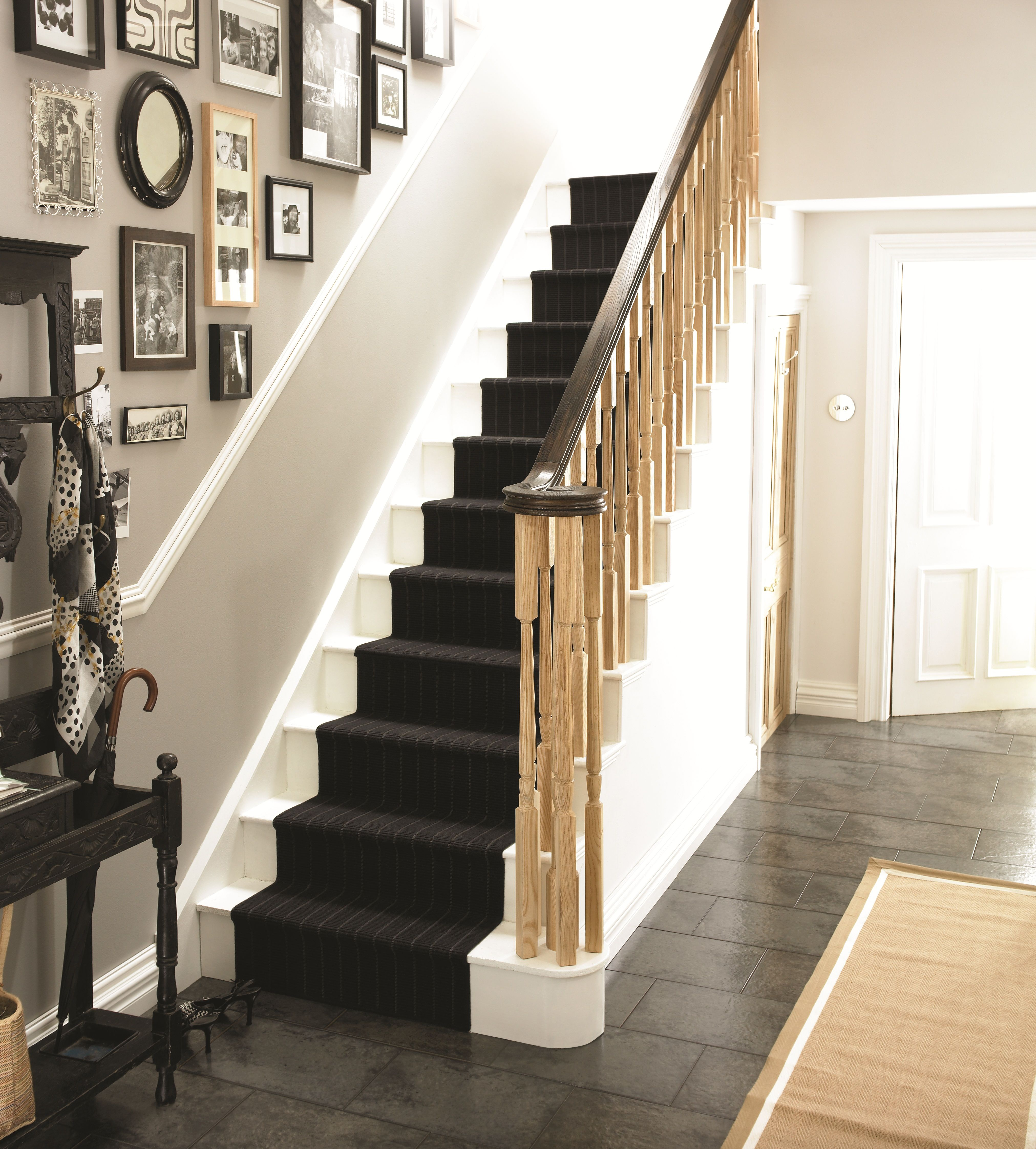 Decorating A Staircase Ideas Inspiration: Richard Burbidge. First Impressions Count: Your Hallway Is