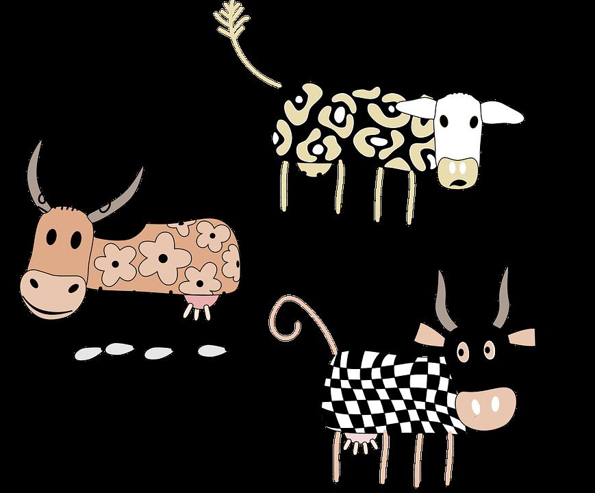 Билибина сказка, корова смешная рисунок