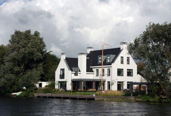 villa rhijnhofweg oegstgeest architectenbureau van
