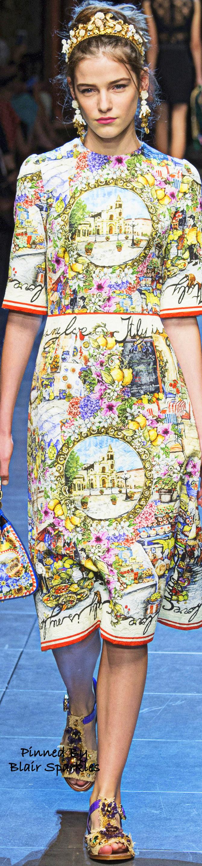 9875582b1cd1 SPRING RTW 2016 (MFW) Dolce   Gabbana ~ ♕♚εїз
