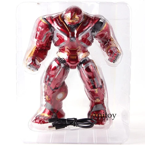 Marvel Avengers Infinity War Mark44 Hulkbuster Action Figures Pvc Collectible Model Toy With Led Light In 2020 Infinity War Hulkbuster Avengers Infinity War