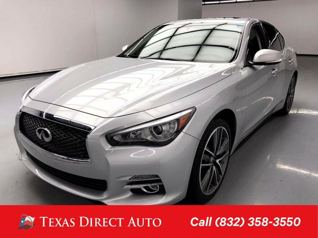 Used 2015 Infiniti Q50 Premium Texas Direct Auto 2015
