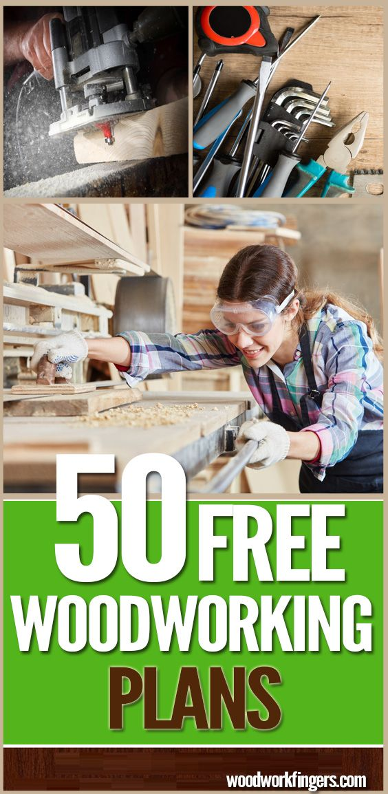 50 Free DIY Woodworking Plans