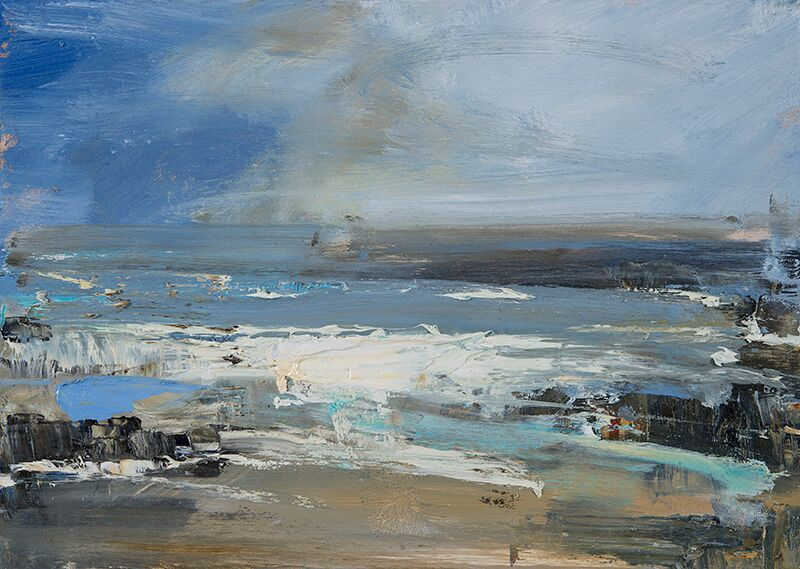 Hannah woodman will be teaching a new landscape painting