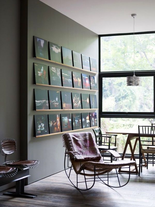 Unique Wall Photo Display Ideas For You 25 Record Room Vinyl Room Decor