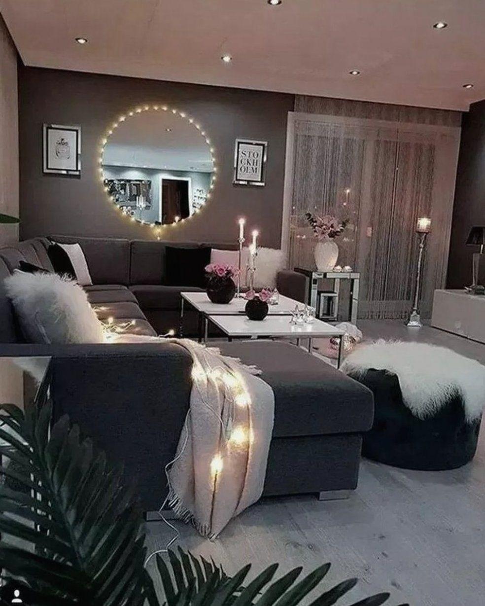 45 Impressive Apartment Living Room Decorating Ideas On A ...