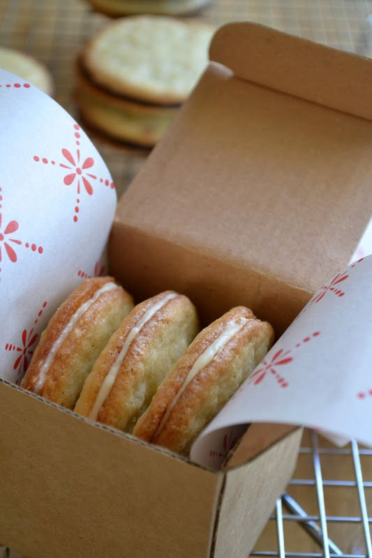 El punto de vista de la Gran Isla: Vainilla en Sandwich Cookies de vainilla