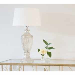Intrixia Table Lamp in Pearlescent Gold