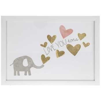 Elephant Love You Tons Framed Wall Decor Hobby Lobby In 2020 Frame Wall Decor Kid Room Decor Elephant Room