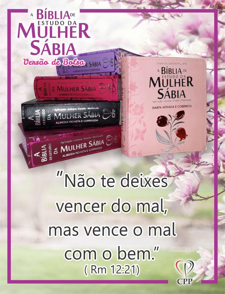 Pin De Casa Publicadora Paulista Em A Biblia De Estudo Da Mulher