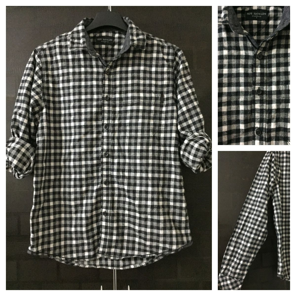 Hurry before stock runs out: Warm - Stylish Bl..., visit http://ftfy.bargains/products/warm-stylish-black-and-white-casual-shirt-1?utm_campaign=social_autopilot&utm_source=pin&utm_medium=pin  #amazing #affordable #fashion #stylish