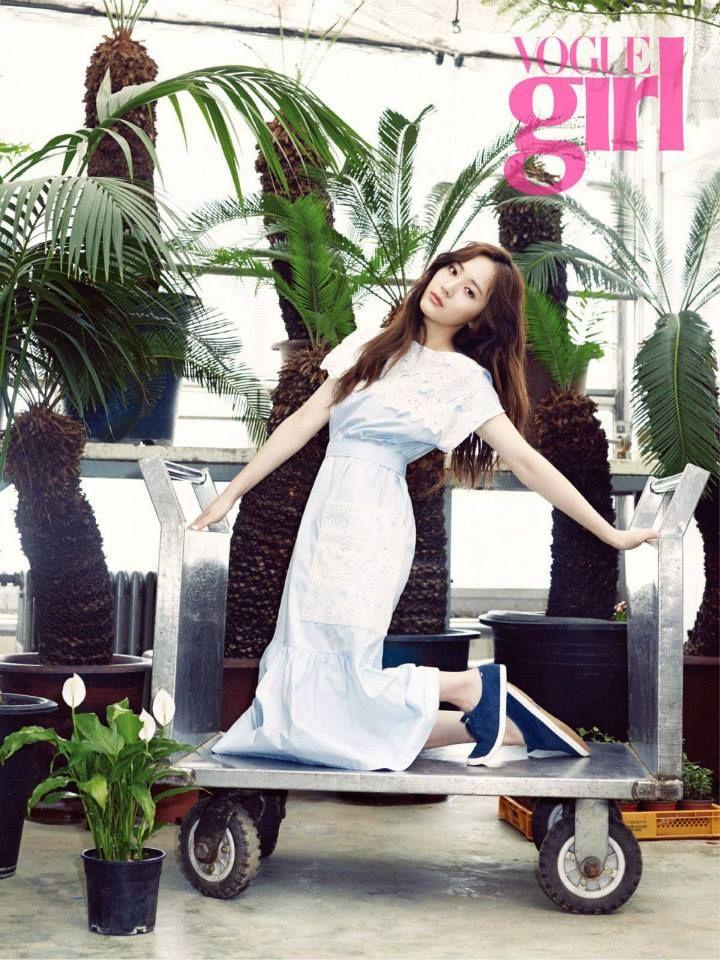 Krystal = Vogue Girl Magazine May Issue