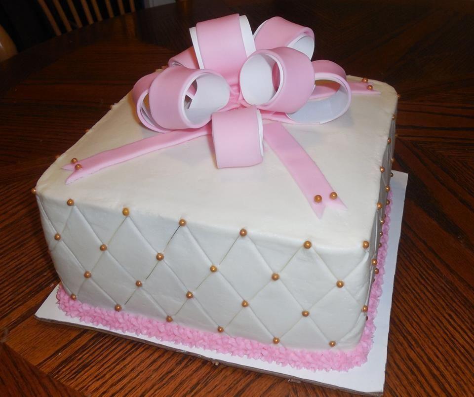 Simple Diamond Pattern Birthday Cake Cakes Ive Made Pinterest