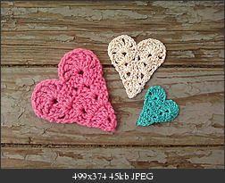 Free #crochet heart pattern