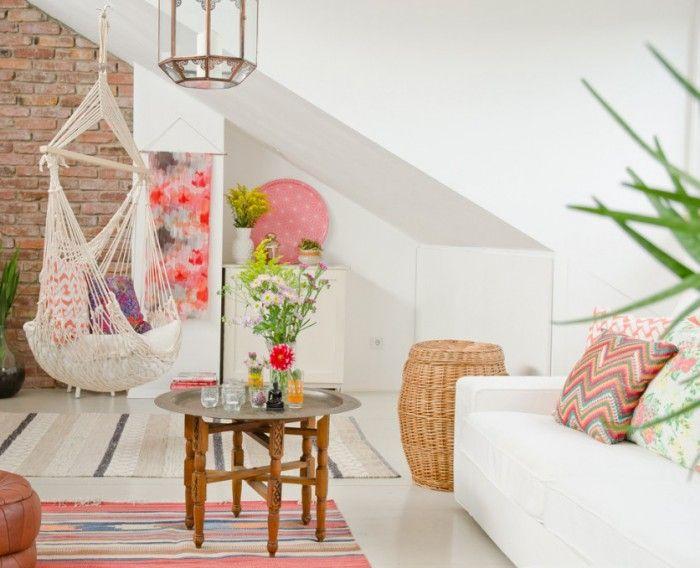 Wohnzimmer weiß #Boho #Wohnideen Wohnideen Pinterest - wohnzimmer weis pink
