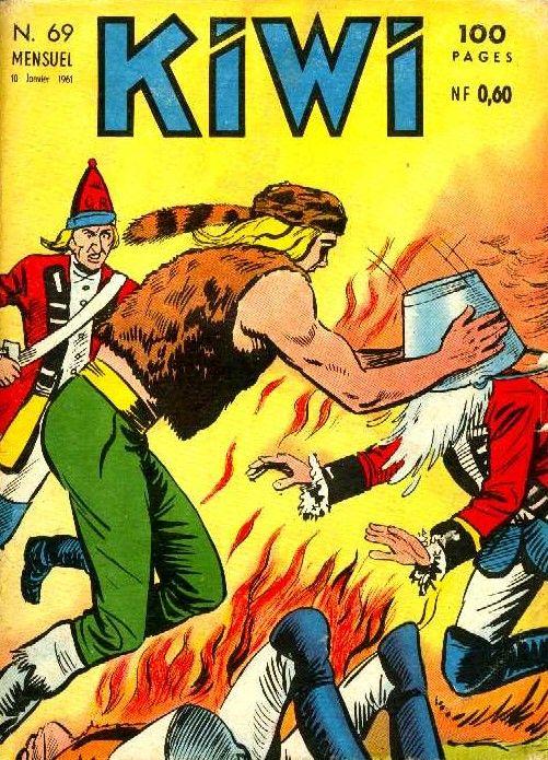 Autre manga des années 60, Blek le roc...